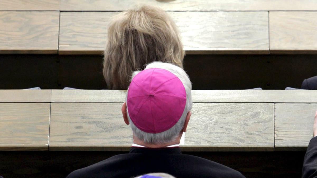 Un cardenal alemán, en un acto del Papa.