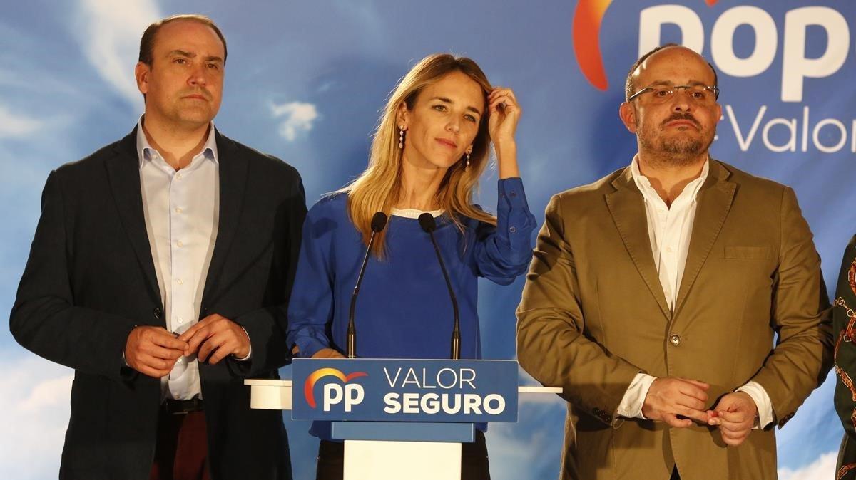 Cayetana Álvarez de Toledo asume la derrota