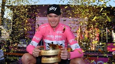 Chris Froome, una 'maglia rosa' tan fría como educada