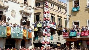 La Colla Vella en la diada de Sant Fèlix.