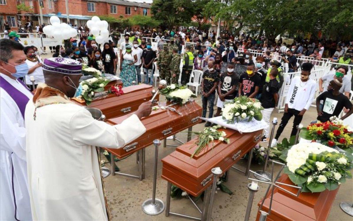 Asesinatos masivos retumban en Colombia en medio de la pandemia