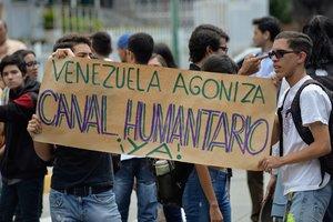 Los venezolanos exigen la renuncia a la presidenciade Nicolás Maduro.
