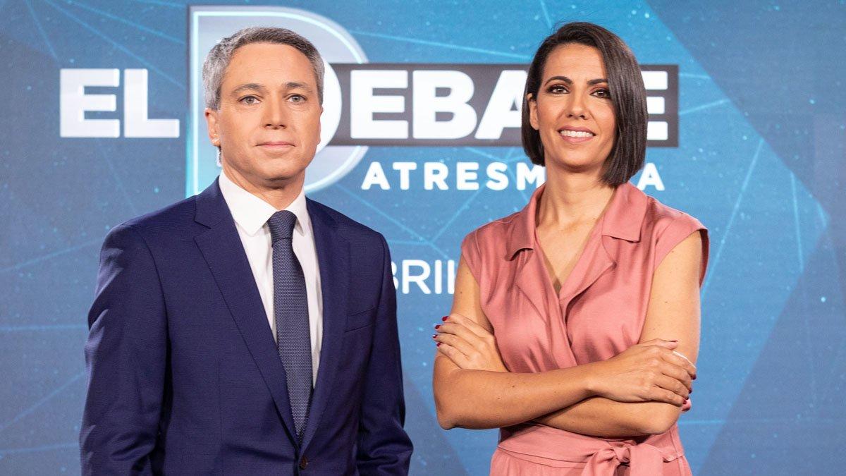 Vicente Vallés y Ana Pastor.