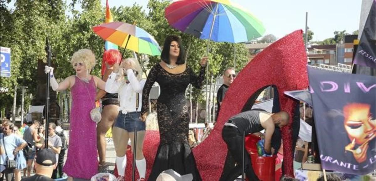 Desfile del Orgullo Gay, el pasado 30 de junio en Barcelona.