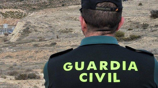 Imagen de archivo de un Guardia Civil en la provincia deGranada.