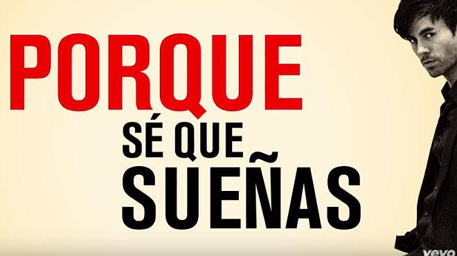 Enrique Iglesias lanza el 'hit' 'Duele el corazón'.