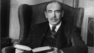 El economista John Maynard Keynes.