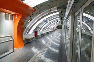El metro de la Ciutat de la Justícia, de la L10 Sud, s'estrena aquest dissabte