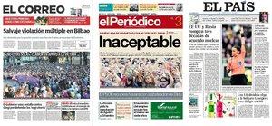 Prensa de hoy: Las portadas de los periódicos del sábado 3 de agosto del 2019