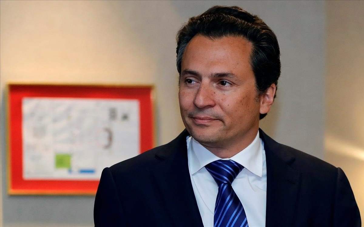 Emilio Lozoya, exresponsable de Pemex.