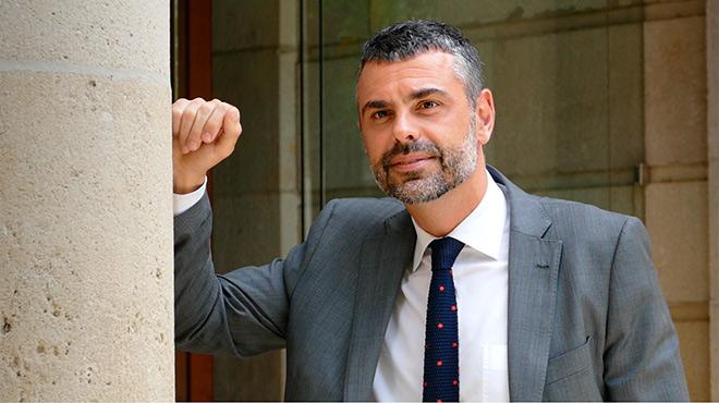 El conseller de Cultura de la Generalitat, Santi Vila,repasa la actualidad política con EL PERIÓDICO.