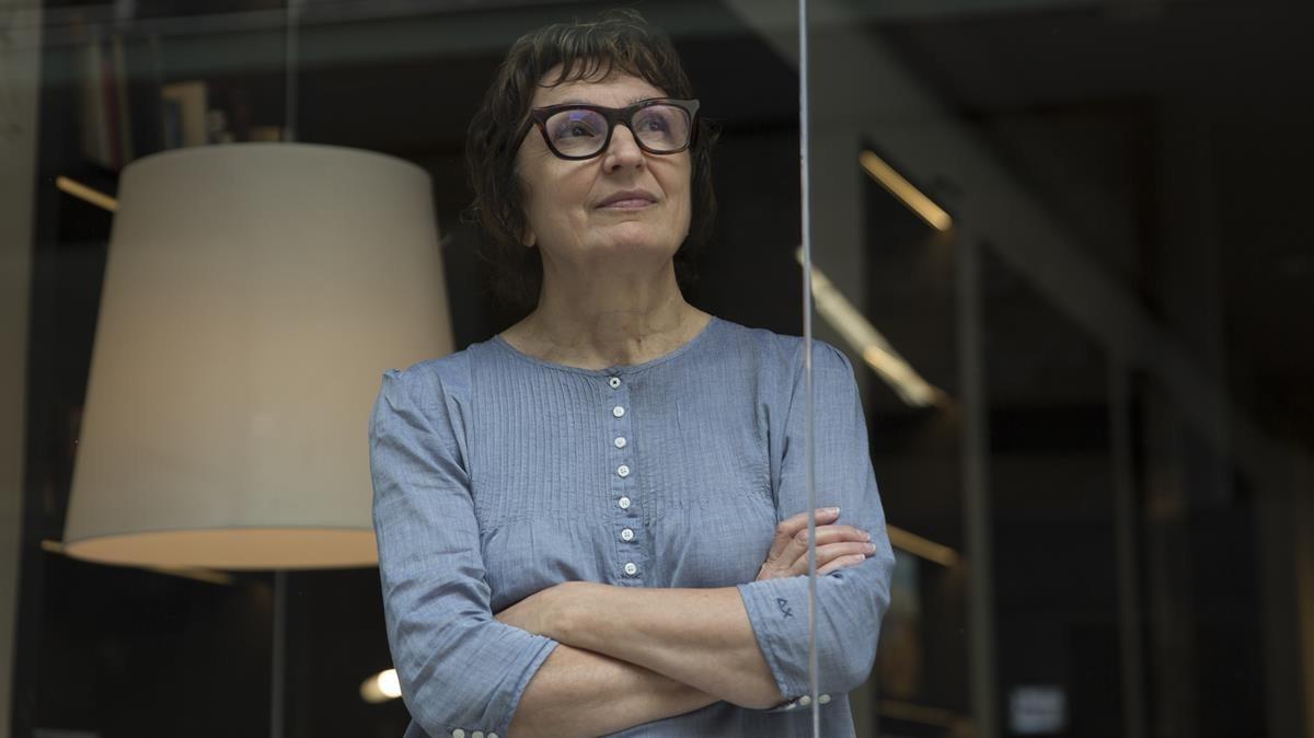 La escritora italiana Donatella di Pietrantonio.