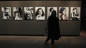 Exposición dedicada a Montserrat Roig en el Born.