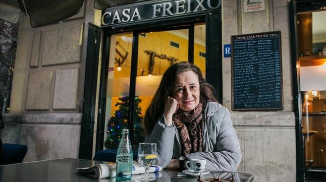 Elisenda Roca, en Casa Freixó.