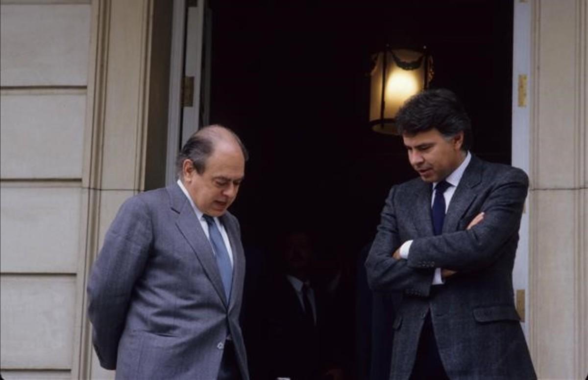 Felipe González y Jordi Pujol, el 12 de diciembre de 1994.