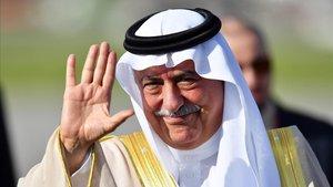 Fotografía de archivo del nuevo titular de Asuntos Exteriores, Ibrahim bin Abdulaziz Al-Assaf.