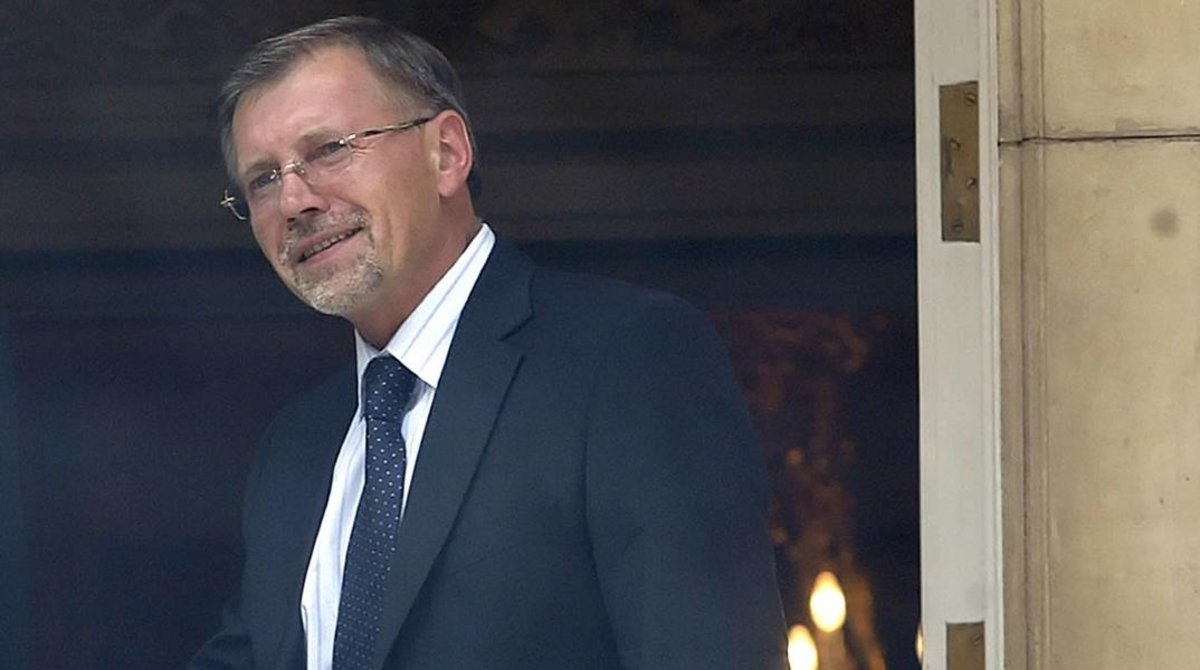 Gediminas Kirkilas, exprimer ministro de Lituania.