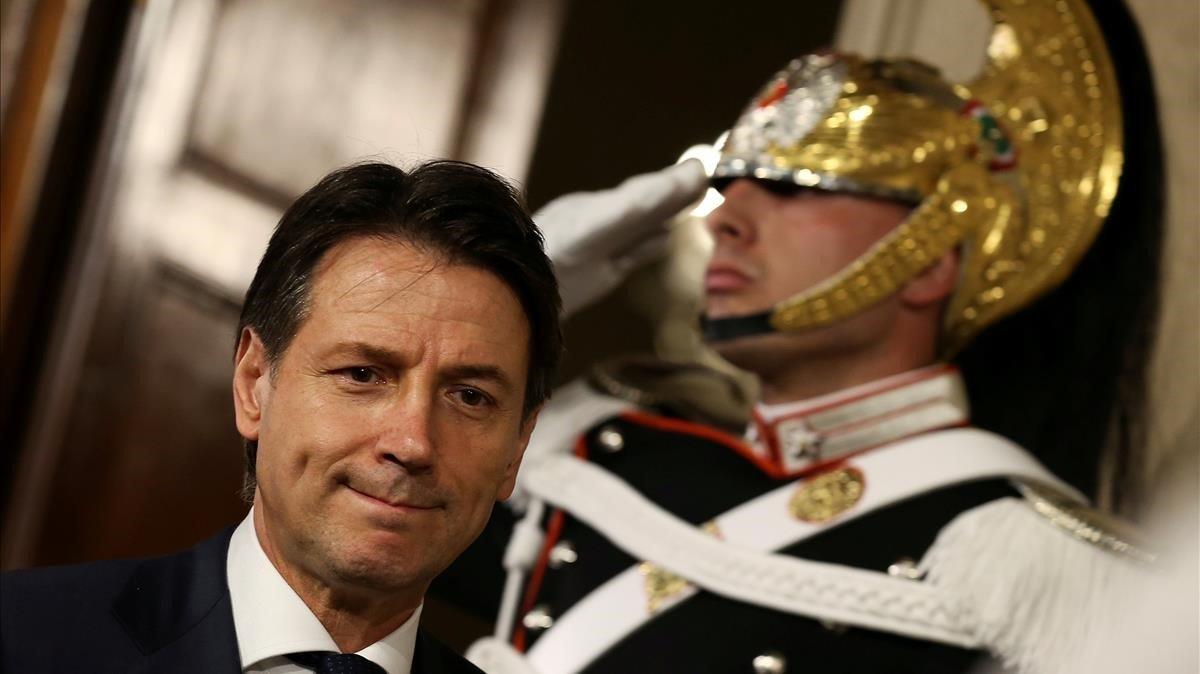 El primer ministro Giuseppe Conte.