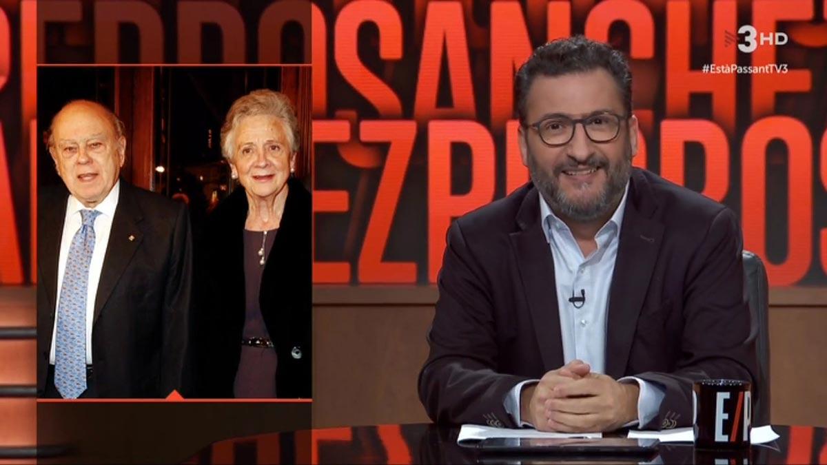 Toni Soler y los Pujol en 'Està passant', TV-3.