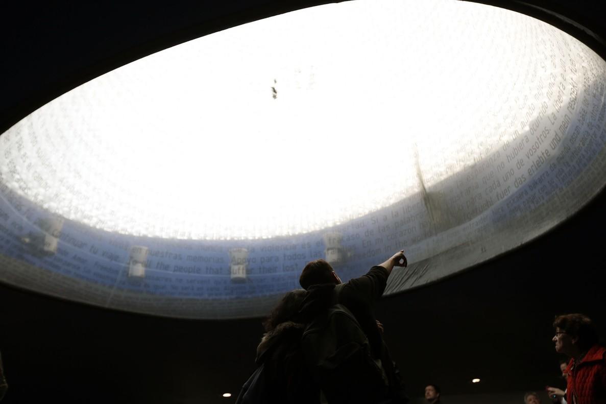Imagen de archivo.Homenaje a las víctimas del 11-M en 2014 en la estación de Atocha.