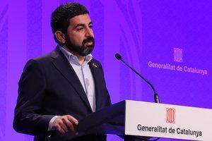 El conseller de Treball, Afers Socials i Famílies, Chakir el Homrani. ACN