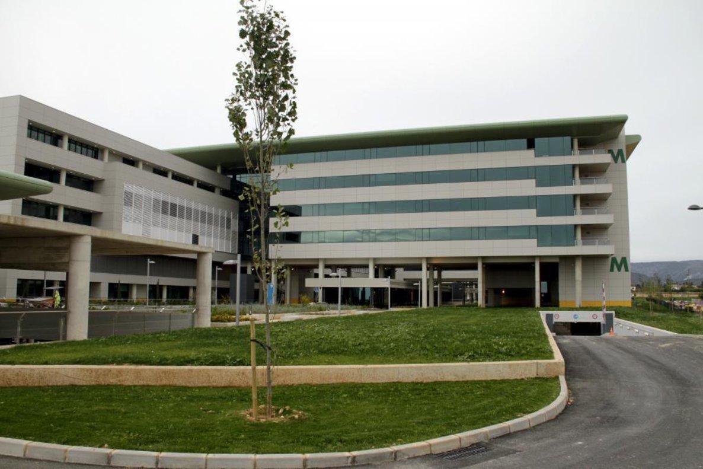 Hospital universitario Son Espases, adonde fue trasladado el bebé.