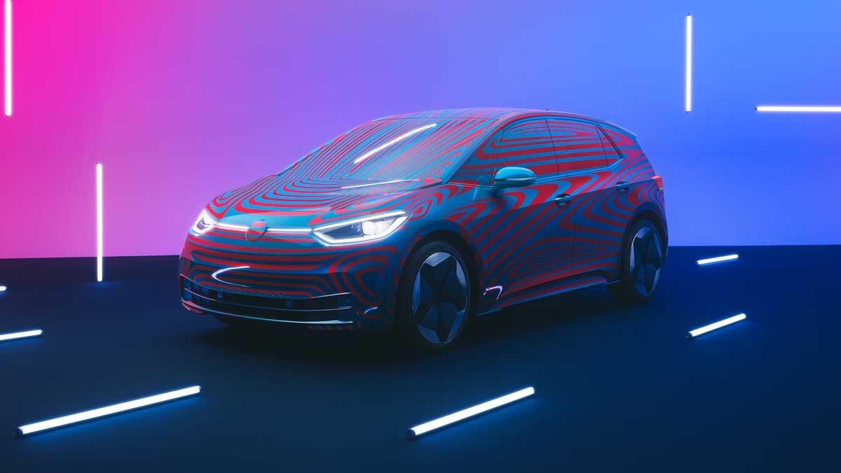 El ID.3 1st es la gran novedad de Volkswagen para su línea de coches eléctricos.