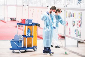 Madrid habilita dos pavellons d'Ifema per a pacients Covid