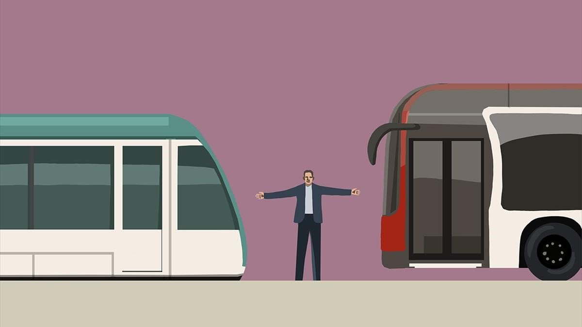 Odios y tranvía