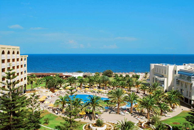 Imagen promocional de uno de los hoteles afectados por el doble atentado en Túnez.