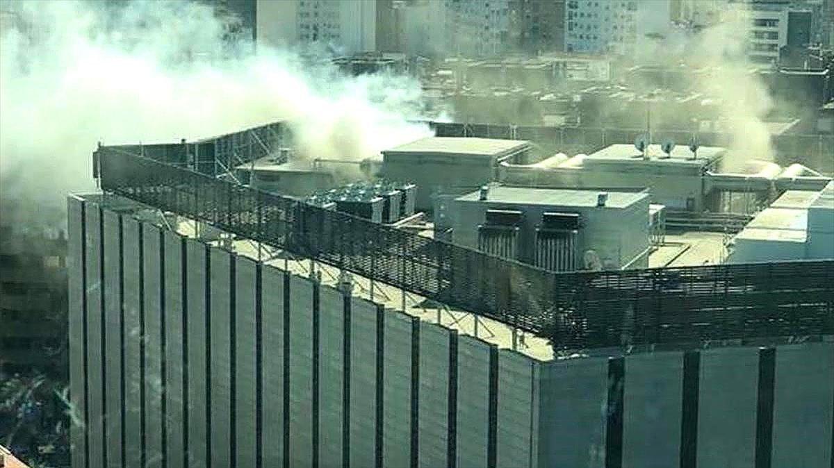 Un incendio ha provocado el desalojo del Corte Inglés situado en el paseo Sagasta de Zaragoza.
