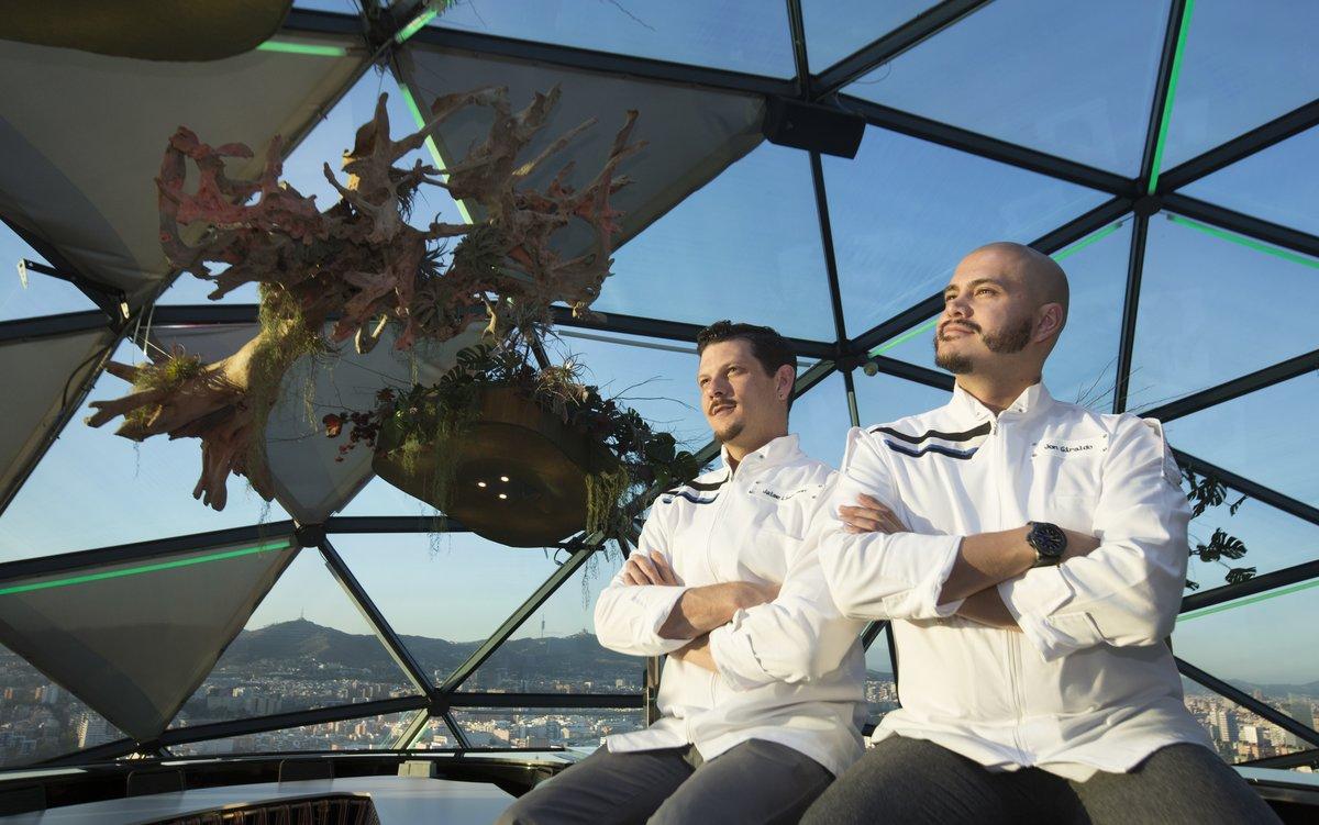 Jaime Lieberman y Jon Giraldo, en Ovnew, en el Hotel Hesperia Tower.