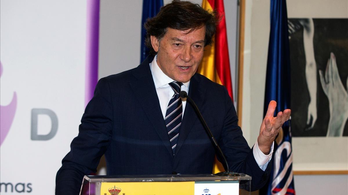 José Ramón Lete, presidente del CSD.