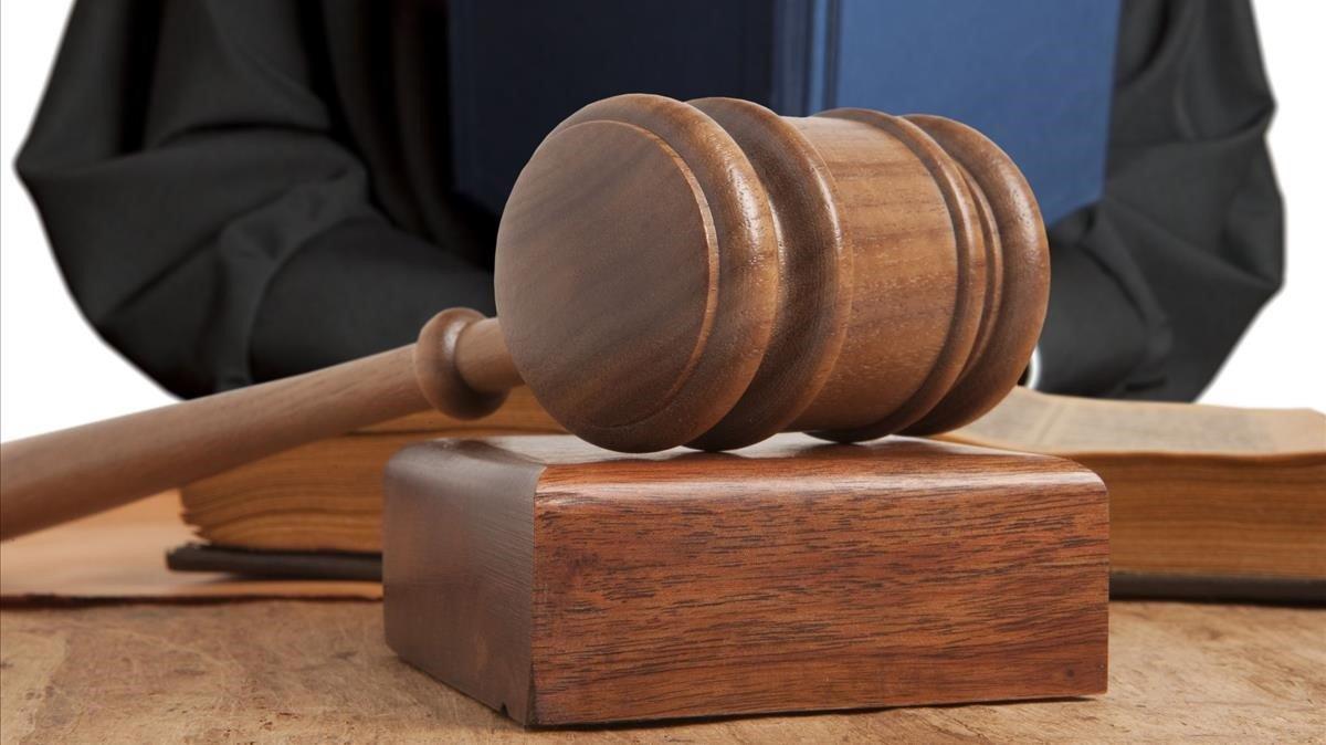 El mazo de un juez, en una imagen de archivo