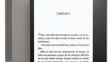 Kindle Oasis con resistencia al agua y pantalla más grande