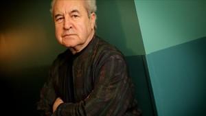 El escritor irlandés John Banville, en Madrid, este mes de mayo.