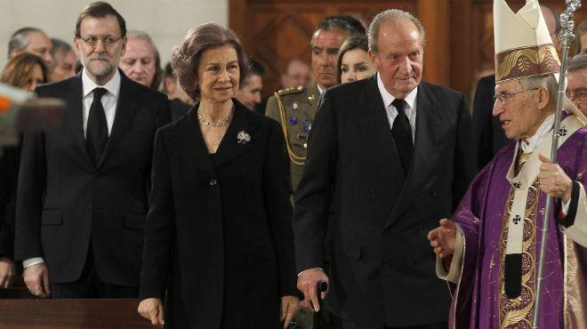 A la missa hi han anat associacions de les víctimes, la família reial i membres del Govern.