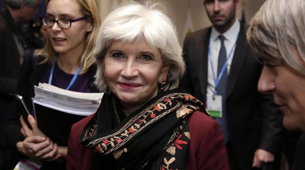 Laurence Tubiana, directora ejecutiva de la Fundación Europea del Clima.