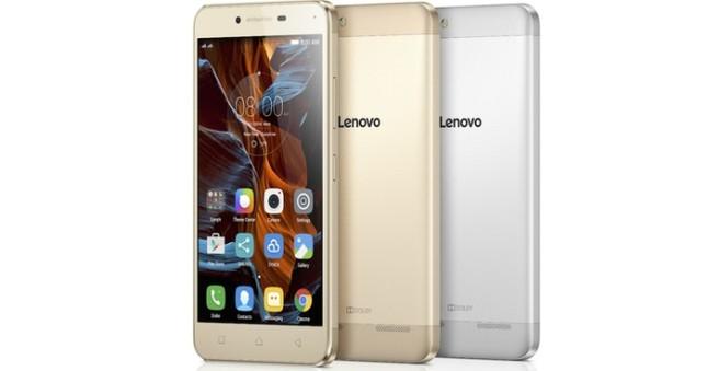 El smartphone de Lenovo Vibe K5.