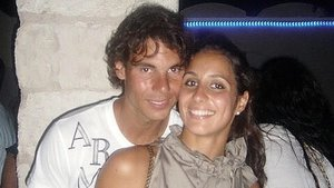 Rafael Nadal y Xisca Perelló.