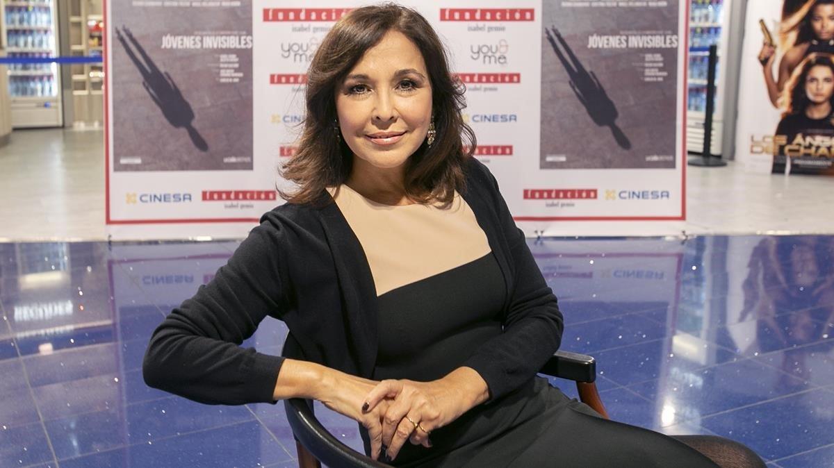 Isabel Gemio, en Barcelona, este martes en Barcelona.
