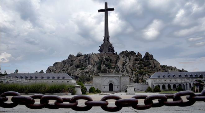 >Panorámica del Valle de los Caídos.
