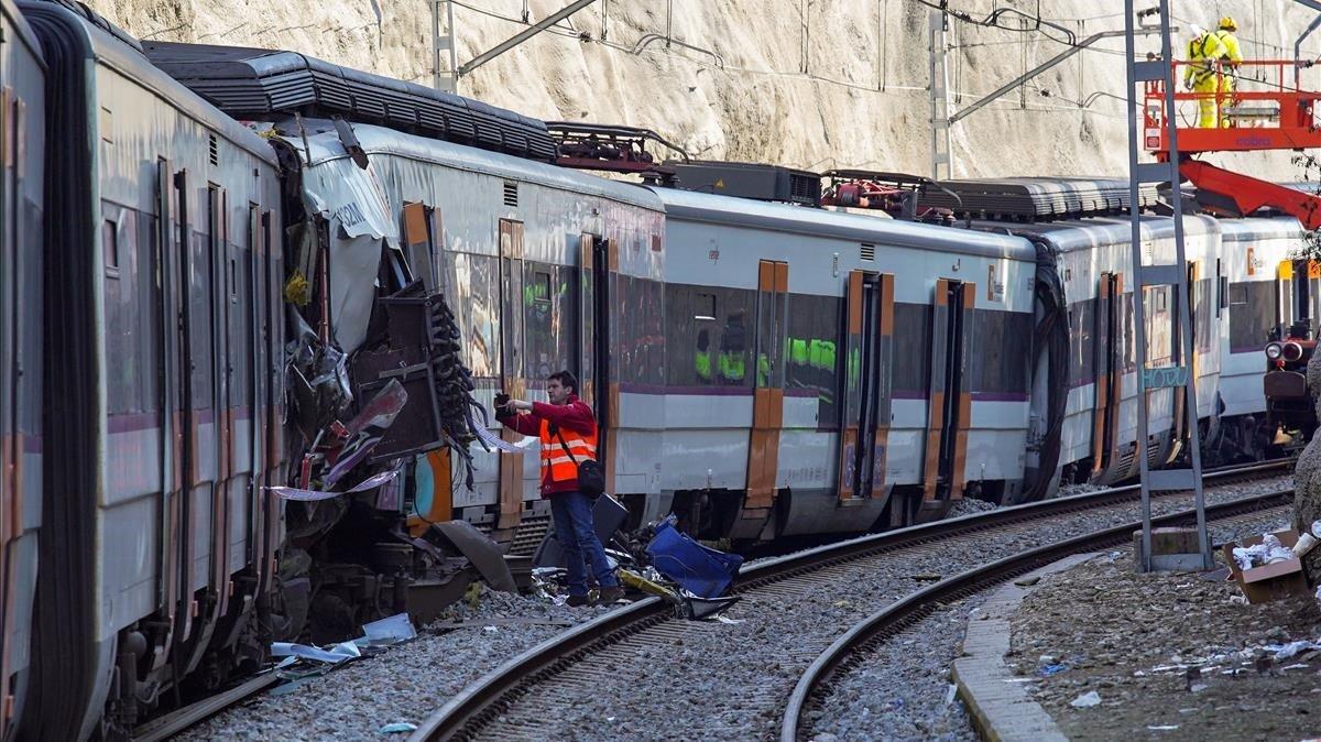 El error humano asoma tras el choque mortal de Castellgalí