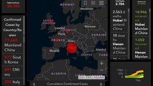 Mapa del coronavirus: Així s'està propagant l'epidèmia pel món