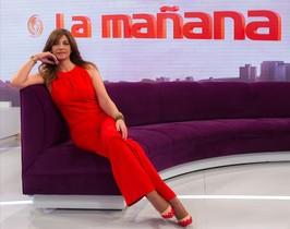Marilo Montero, presentadora de La mañana de TVE-1.