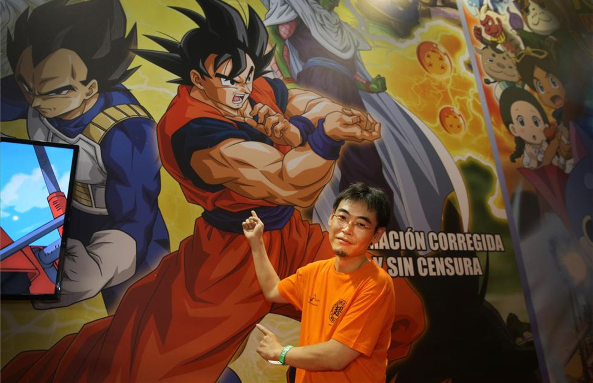 Masatoshi Chioka, director de animación de Dragon Ball Super, en el Salón del Manga.