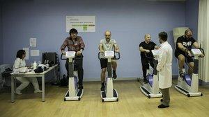 El ejercicio reduce a menos de la mitad el riesgo de un nuevo infarto