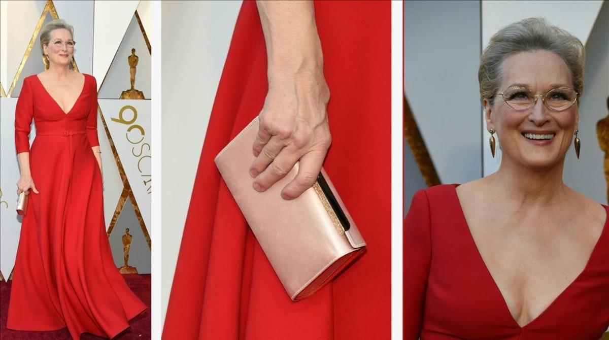 Meryl Streep en los 90th premios Oscar