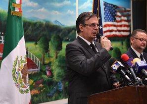 El canciller de México, Marcelo Ebrard.