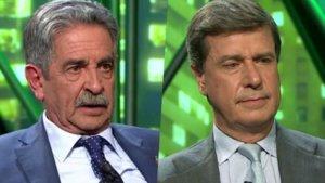 Miguel Ángel Revilla y Cayetano Martínez de Irujo, invitados en 'laSexta noche'.